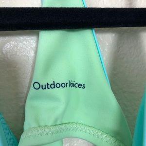 Outdoor Voices Swim - NWOT Outdoor Voices Dive One Piece Aqua/mint